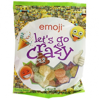 Emoji citrique Let's go crazy