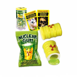 Nuclear Gum Stickers - Lot de 5