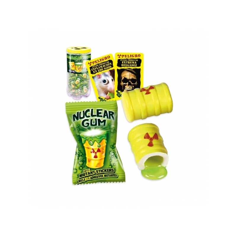 Nuclear Gum Stickers