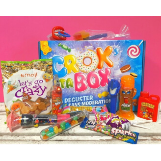Crok' Ta Box N°19 - Avril - Crazy Box : Les Bonbons Fous