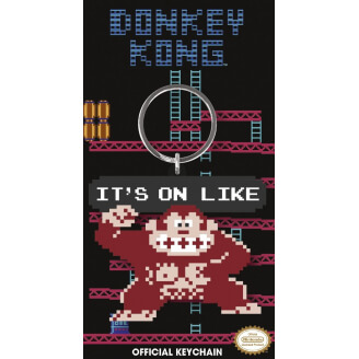 Porte-clés Donkey Kong - It's on like