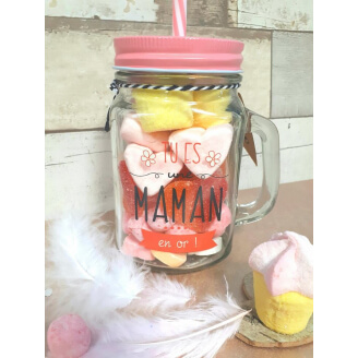 Mason Jar Gourmand - Maman en or