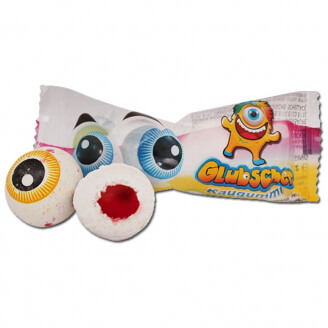 Chewing-gum oeil - Lot de 2 yeux