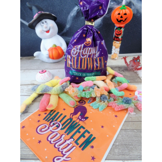 Sachet de bonbons acidulés - Halloween Party
