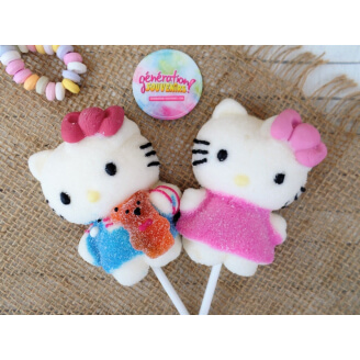 Sucette guimauve Hello Kitty