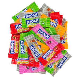 Maoam Stripes Haribo - Lot de 10
