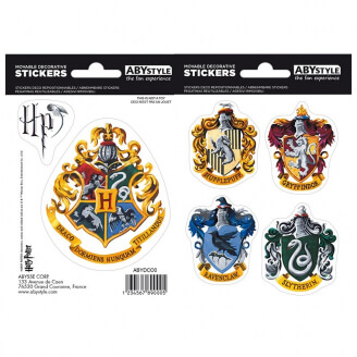 Stickers Harry Potter - Maisons Poudlard
