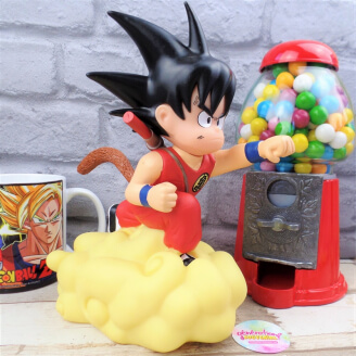 Tirelire Dragon Ball - Son Goku sur son nuage magique