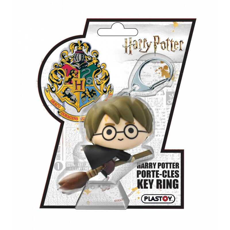 Porte-clés Harry Potter en 3D