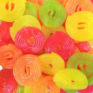 Bonbons Rotella Fruits Haribo - Lot de 10
