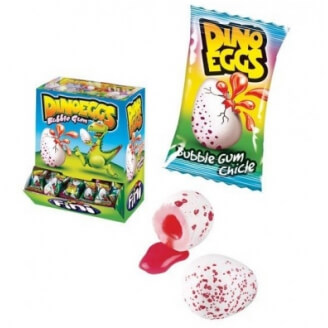 Bubble Gum Dino Eggs - Lot de 5