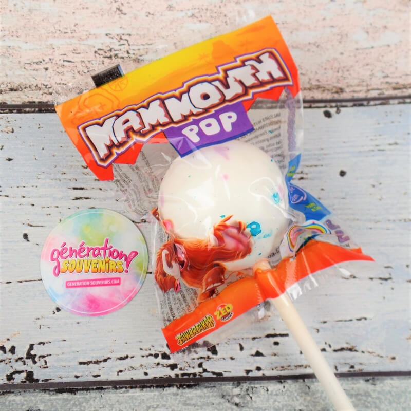 Sucette Couille de Mammouth - Mammouth Pop