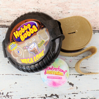 Chewing-gum en rouleau Hubba Bubba - Cola