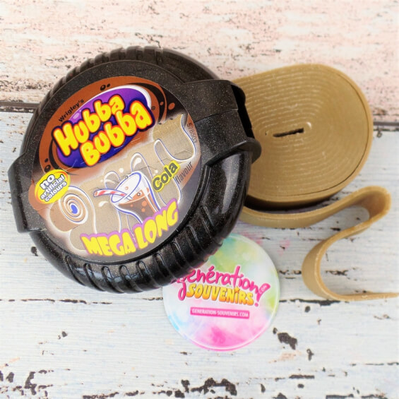 Chewing-gum rouleau Hubba Bubba cola