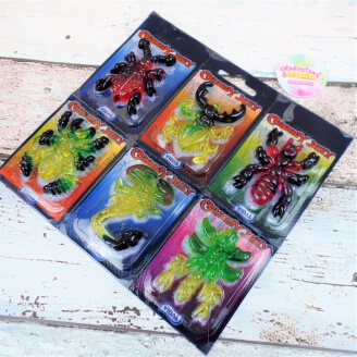 Insectes Creepy Jelly - Lot de 6