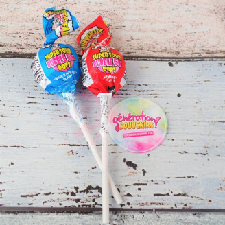 Sucette acide Warheads - Lot de 2