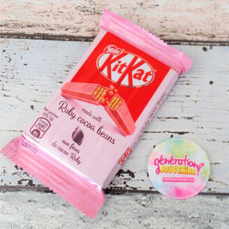 Kit Kat Ruby au chocolat rose