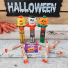 Distributeurs de bonbons Halloween - Lot de 3