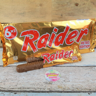 Barre de chocolat Raider - Retro Edition 80