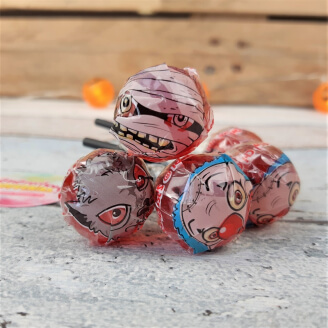 Sucette Space Chupi Terror - Lot de 5 - Bonbon Halloween