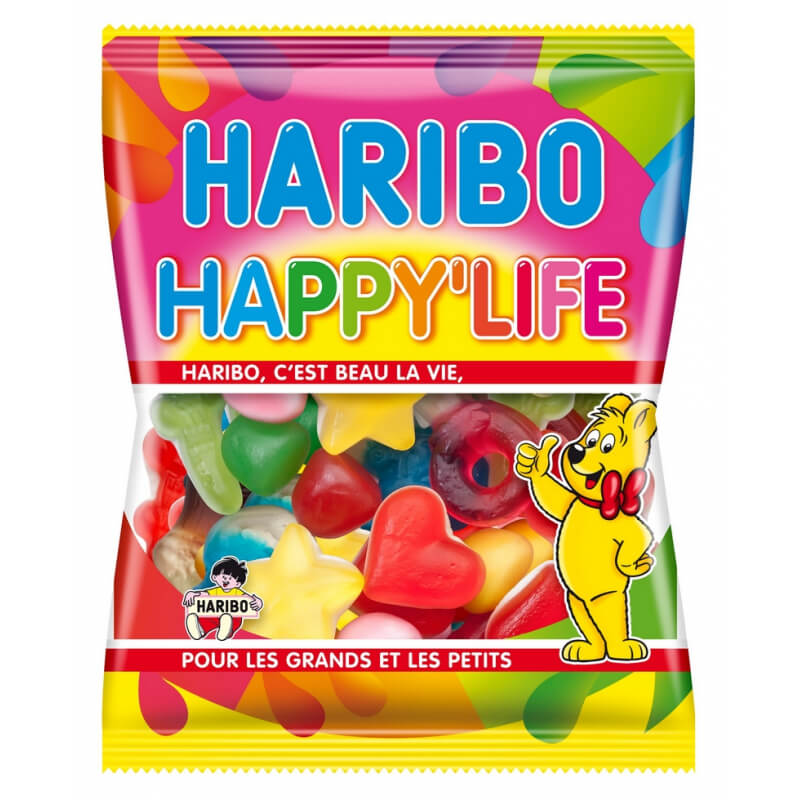 Bonbons Happy Life Haribo