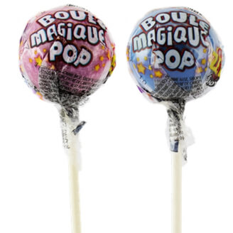 Sucette Boule Magique Pop originale - Lot de 2