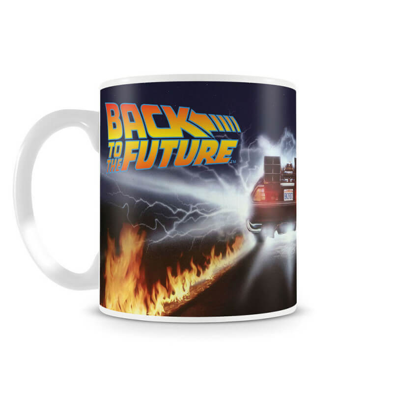 Mug Retour vers le futur - Delorean - Back to the future