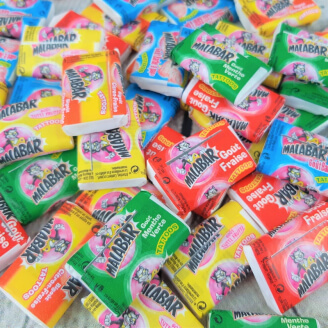 Malabar Chewing-Gum - Lot de 10