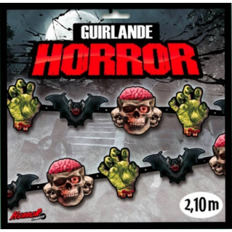 Guirlande Horror Party - Halloween