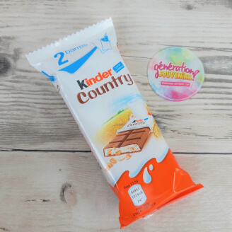 Kinder Country - Sachet de 2 barres de chocolat