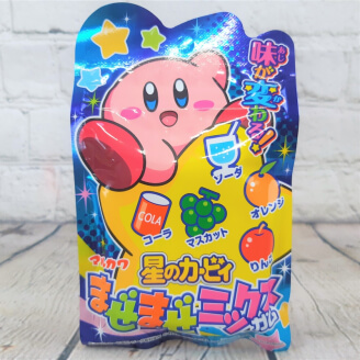 Chewing-gum Kirby's aux fruits