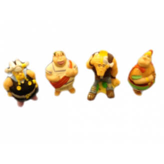 Lot de 4 minis figurines - Astérix