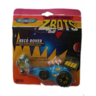 Micro Machines - Z Bots : Véhicule Reco Rover + 1 figurine