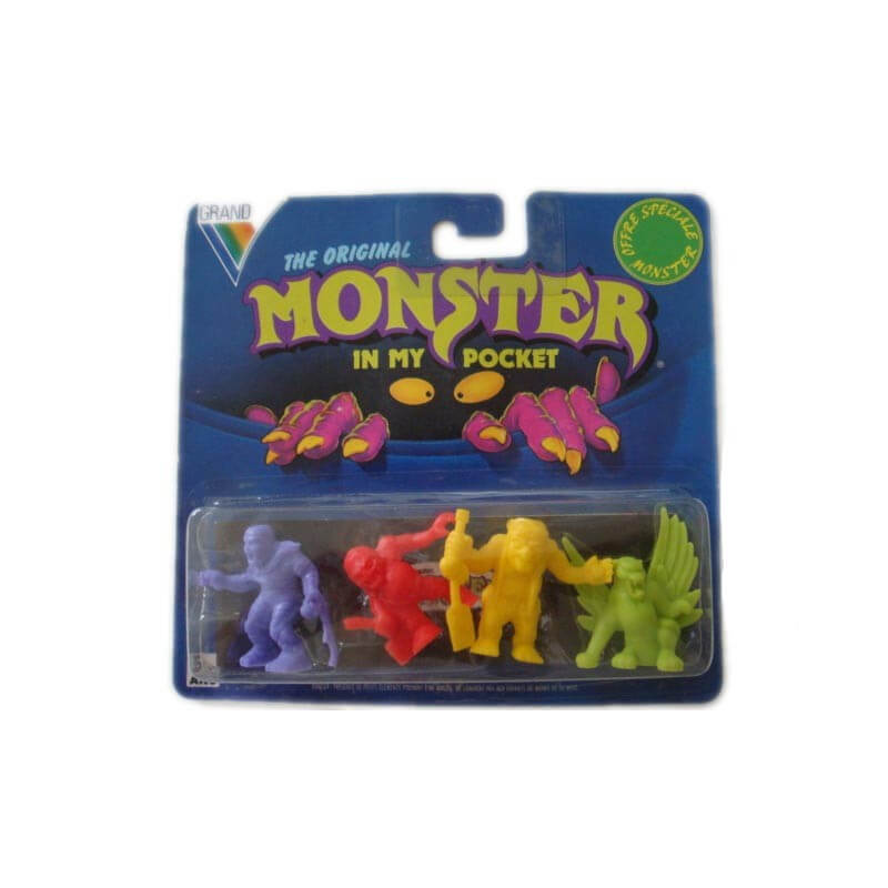 Monster in my pocket : Blister de 4 figurines