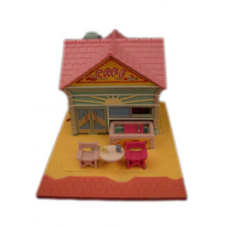 "Polly Pocket : Café de la plage - Collection ""Pollyville"" - sans figurine"
