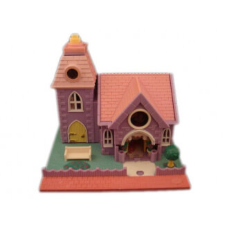 "Polly Pocket : Chapelle des noces de mariage - Collection ""Pollyville"""