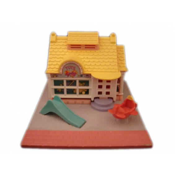 """Polly Pocket : Magasin de jouets - Collection """"Pollyville"""" - sans figurine"""