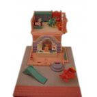 "Polly Pocket : Magasin de jouets - Collection ""Pollyville"" - sans figurine"