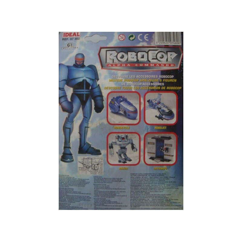 Robocop : Alpha Commando Supercharged - Light-Up