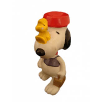 Snoopy : Equilibriste avec Woodstock