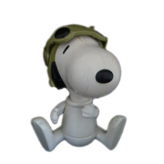 Snoopy : L'aviateur assis