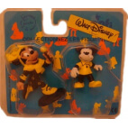 Disney : Mickey et Minnie : Lot de 2 Figurines