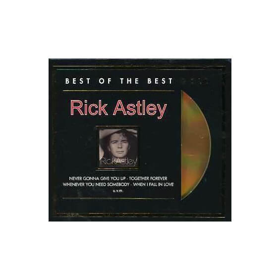 Rick Astley - Best Of The Best - Limited GOLD Edition