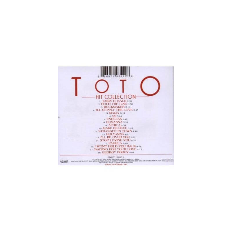 TOTO - Hit Collection (Best Of)