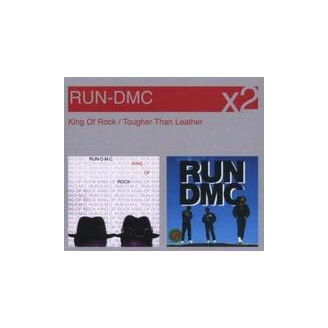 Coffret CD - RUN DMC - King Of Rock - Tougher Than Leather - 2 CD