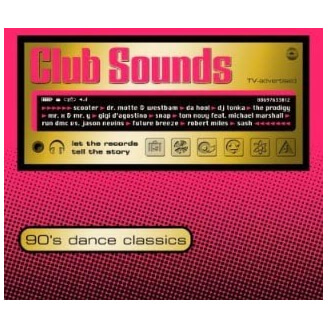 Club Sounds - 90's Dance Classics - 2 CD