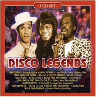 Disco Legends (Vol. 3) - 3 CD