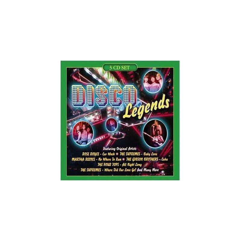 Disco Legends (Vol. 4) - 3 CD
