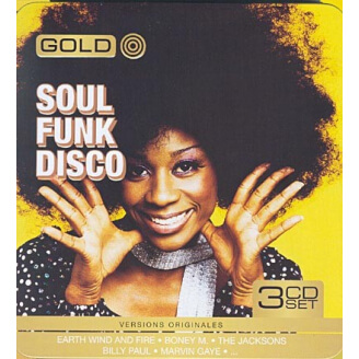 Soul Funk Disco (Box Metal) - 3 CD