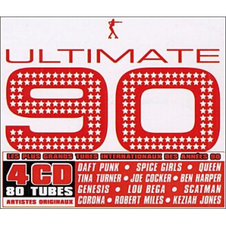 ULTIMATE 90 - 4 CD